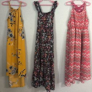 Other - Girls Dresses Lot of 3 pc.